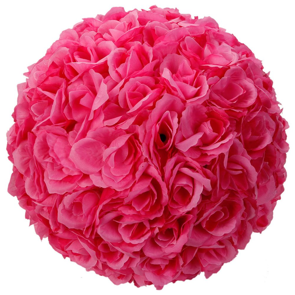 Amazon Elegant 10 Inch Satin Flower Ball For Wedding Party