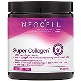 NeoCell Super Collagen Powder, Collagen Supplement, Type 1 & 3, Hydrolyzed Collagen, Grass Fed, Non-GMO & Gluten Free, 198g