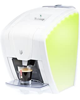 Expresso Machine A Cafe Malongo Oh Matic Blanc Nacre Ice Pearl
