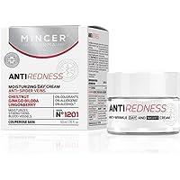 Mincer Pharma Anti Redness Återfuktande, stärkande blodkärl Dag ansiktskräm mot spindlar för vaskulär hud med kastanj…