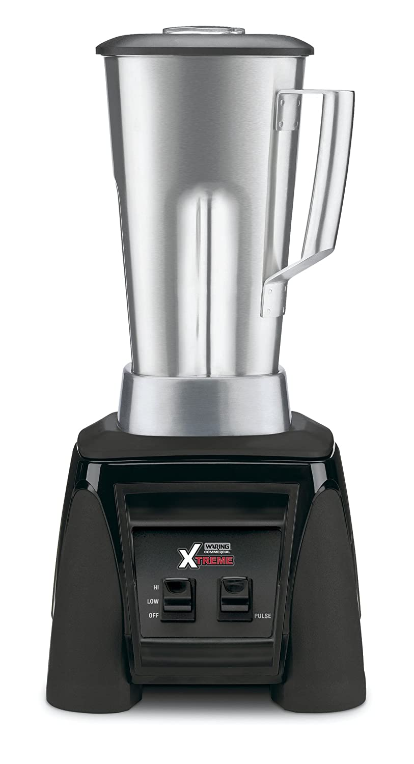 Waring Commercial MX1000XTS Xtreme Hi-Power Blender with Stainless Steel Container, 64-Ounce