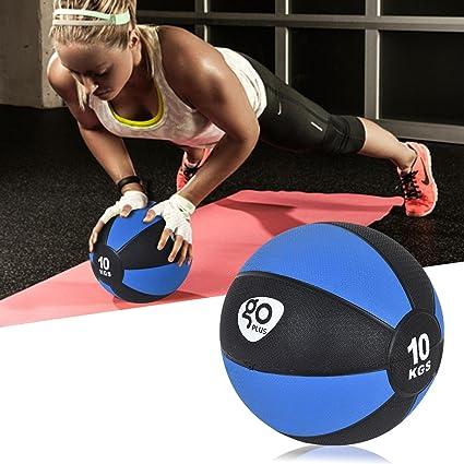 Balón medicinal de goma para ejercicios, entrenamiento, MMA, boxeo ...