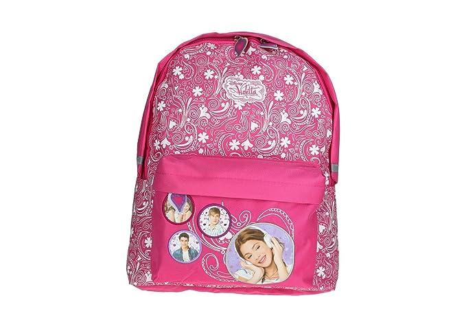 Mochila niña DISNEY VIOLETTA bolsa de ocio escolar rosa VZ344: Amazon.es: Ropa y accesorios