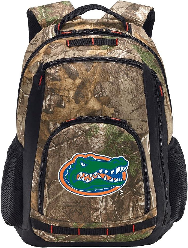 Broad Bay University of Florida Camo Backpack Realtree Florida Gators Backpacks - Laptop Section!