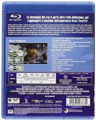 Io, robot [Italia] [Blu-ray]: Amazon.es: Marco Beltrami, James Cromwell, Bridget Moynahan, Will Smith, Alan Tudyk, Alex Proyas, Marco Beltrami, James Cromwell: Cine y Series TV