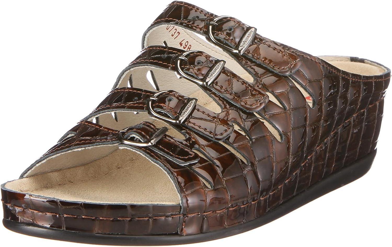 Berkemann Women's Clogs Tulsa Mall Mules Braun Brown quality assurance UK 4