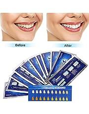 Teeth Whitening Strips,Teeth Bleaching,Teeth Whitening Kit,Teeth Whitening Strips Advanced Double Elastic Gel Strips Kit 28 Pcs 14 Treatments for Teeth Care,Mint Flavor
