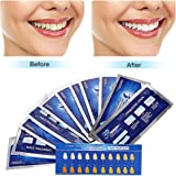 Teeth Whitening Strips,Teeth Bleaching,Teeth Whitening Kit,Teeth Whitening Strips Advanced Double Elastic Gel Strips Kit 28 Pcs 14 Treatments for Teeth Care,Mint Flavor
