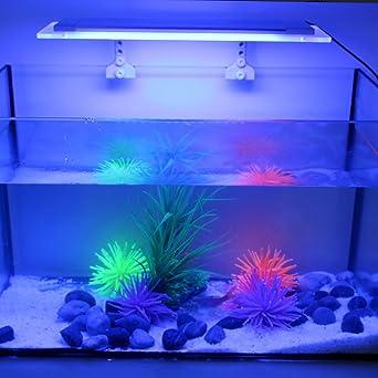 Tomshine Acuario Luz de Ultra Finos RGB LED Multi Cambio de Color con IR 24 Teclas