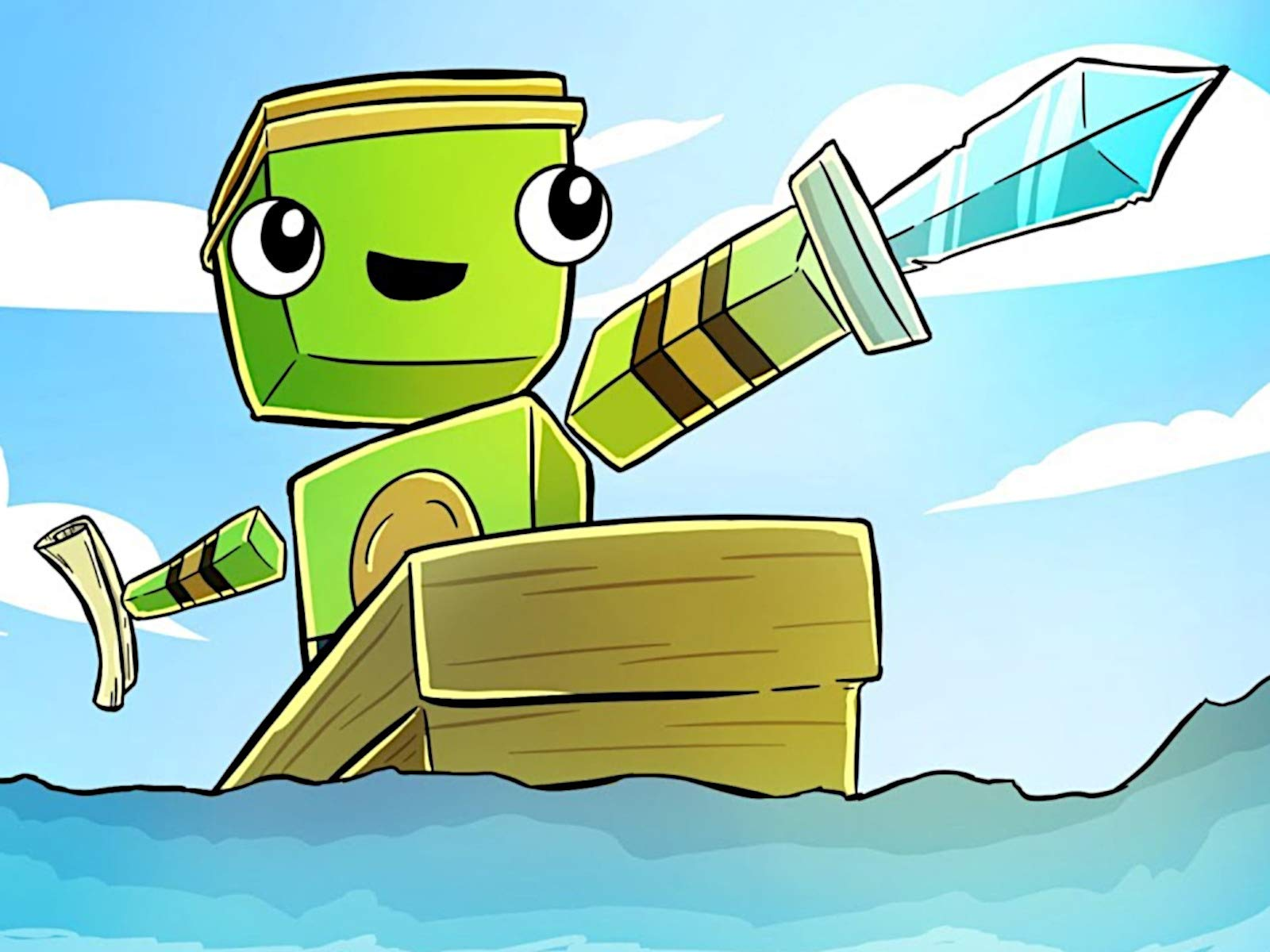 Amazon.com: Clip: Minecraft Aquatic 1.13 Survival: Kai Kay