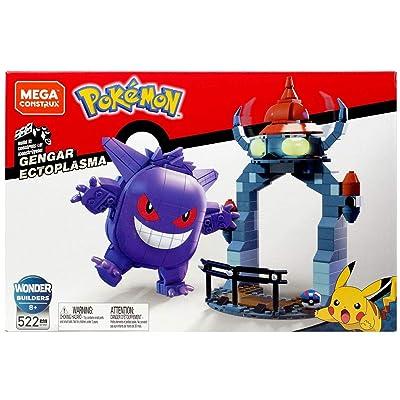 Mega Construx Pokemon Gengar Ectoplasma Set 522 Pieces: Toys & Games