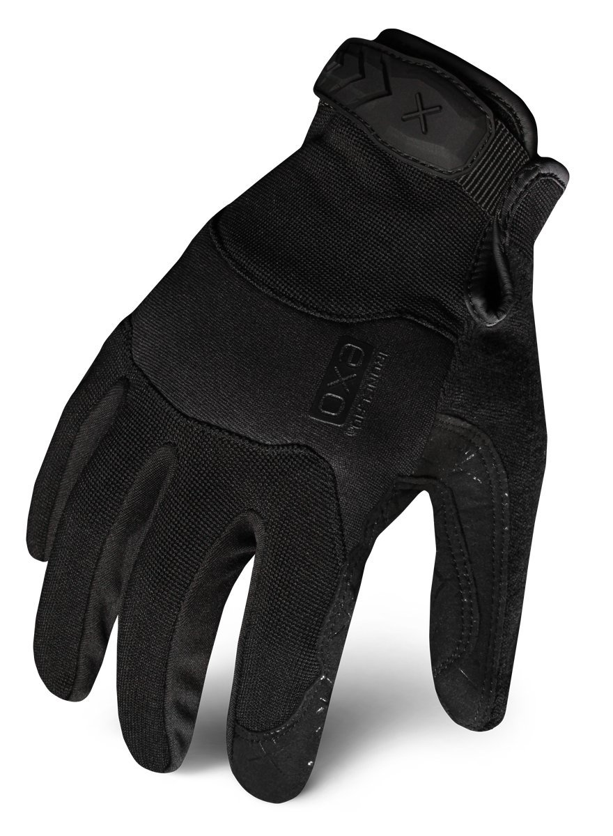 Ironclad EXOT-PBLK-04-L Tactical Operator Pro Glove, Stealth Black, Large