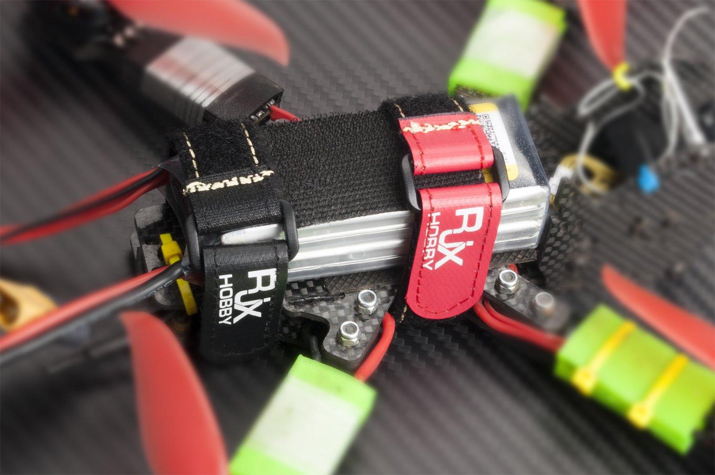 5Pcs RJX High Strength Non-Slip Magic Tape Battery Straps for RC Multirotor FPV