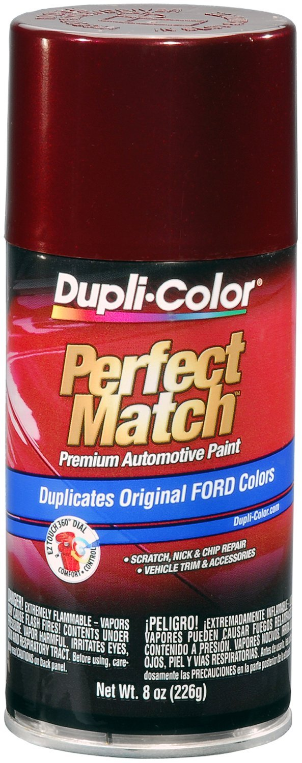 Dupli-Color BFM0373 Dark Toreador Red Ford Exact-Match Automotive Paint - 8 oz. Aerosol