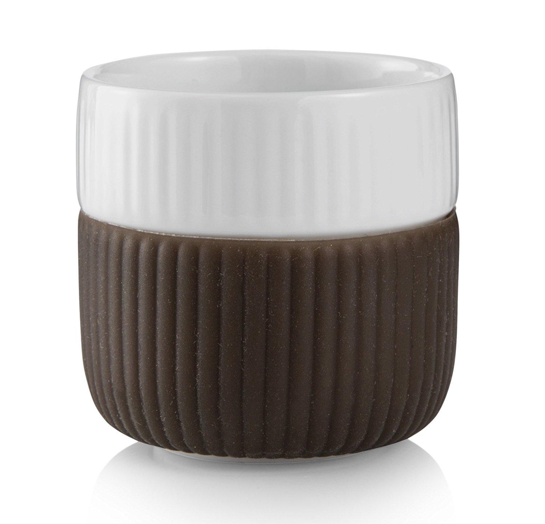 Contrast 3 oz. Espresso Cup Color: Chocolate Royal Copenhagen 1292493