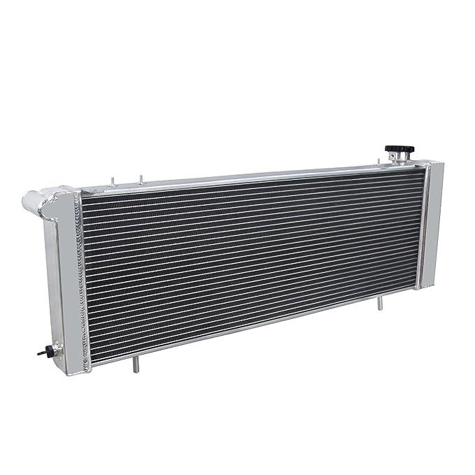 primecooling 3 fila Radiador de aluminio para Jeep Cherokee ...