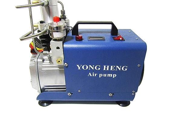 Bomba de agua de alta presión 30 mpa Compresor De Bomba de aire eléctrica refrigerado por agua (Cilindro de la presión versión 220 V 220V: Amazon.es: Hogar