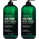 BOTANIC HEARTH Tea Tree Body Wash, Helps Nail , Athletes Foot, Ringworms, Jock Itch, Acne, Eczema & Body Odor, Soothes Itchin