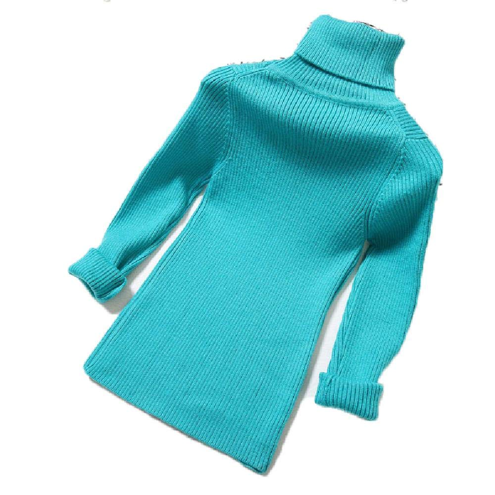 BCVHGD Baby Boys Girls Sweaters Children Winter Cotton Knitting Tops Turtleneck Kid Pullover Warm Cardigan