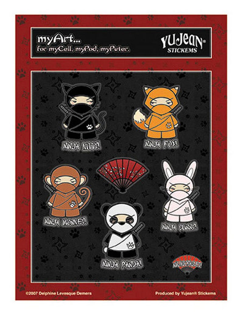 Delphine Levesque Demers - Ninja-Dorable Mini-etiqueta ...