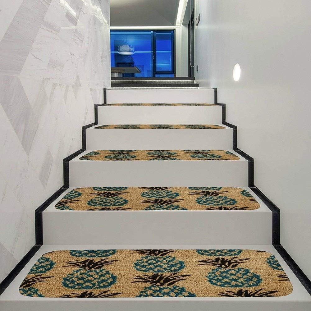 Antideslizantes para escaleras Lavable Antideslizante Alfombra De La Escalera Alfombrillas De Escalera De Goma Autoadhesivas A Prueba De Suciedad para El Hogar Conjunto De 5/10/15 TZXSHO: Amazon.es: Hogar