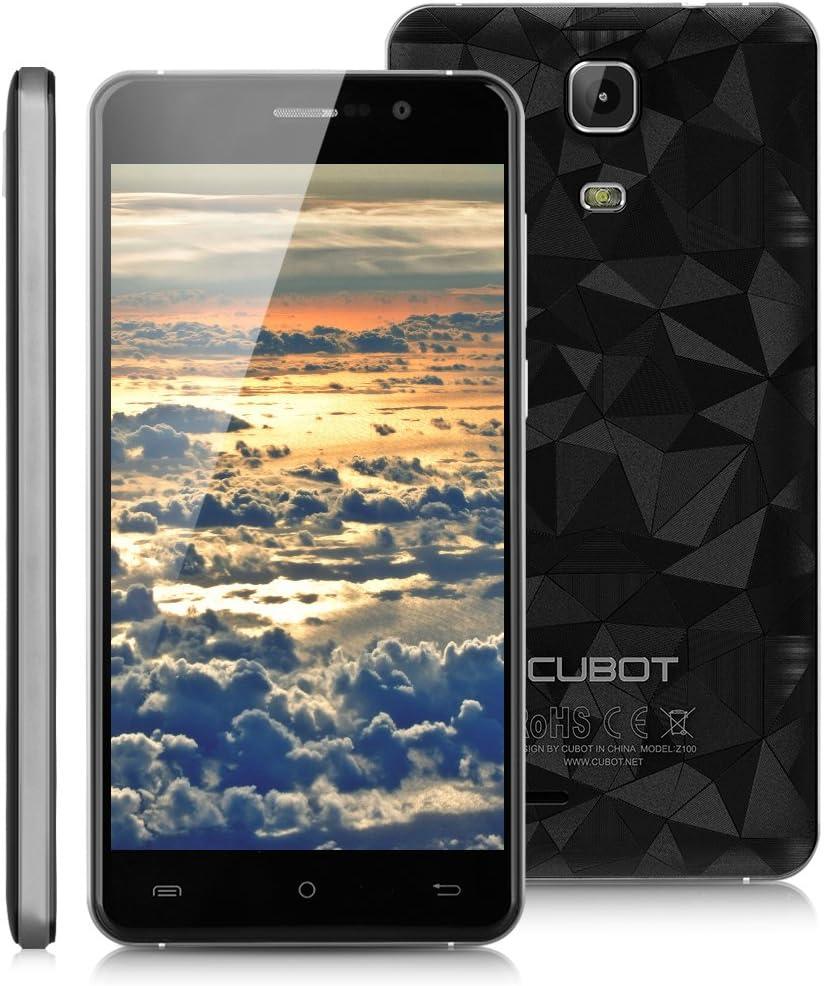 Cubot Z100 - Smartphone 4G Libre Android 5.1 (Quad Core, Pantalla 5.0