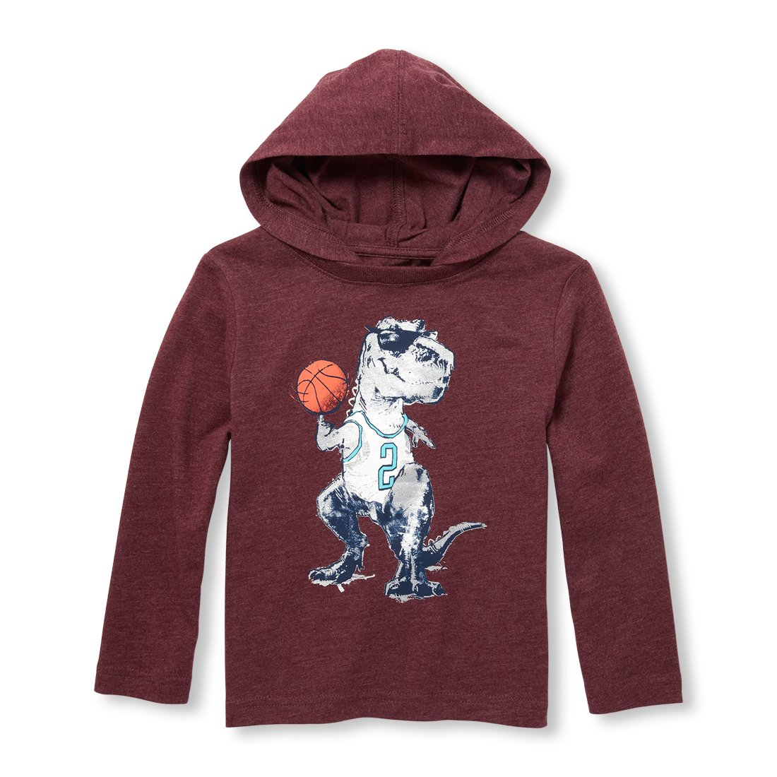 The Childrens Place Baby Boys Long Sleeve Hooded Top
