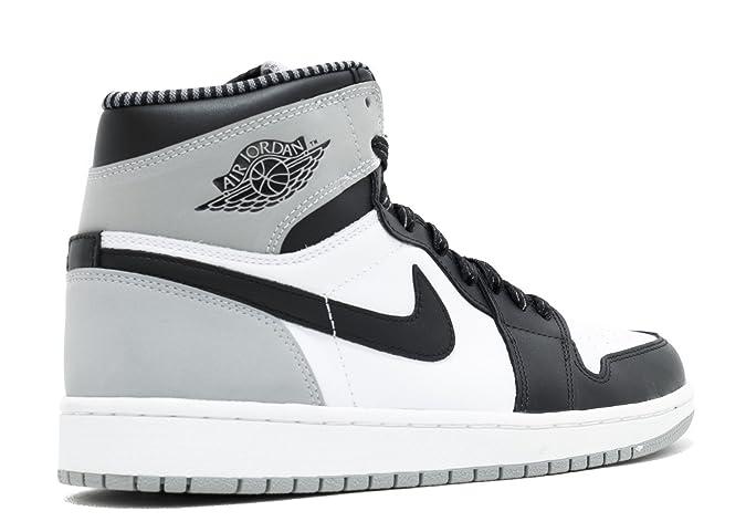 sports shoes 9f505 9b2ce Amazon.com   Nike Mens Air Jordan 1 Retro High OG Barons Leather Basketball  Shoes   Basketball