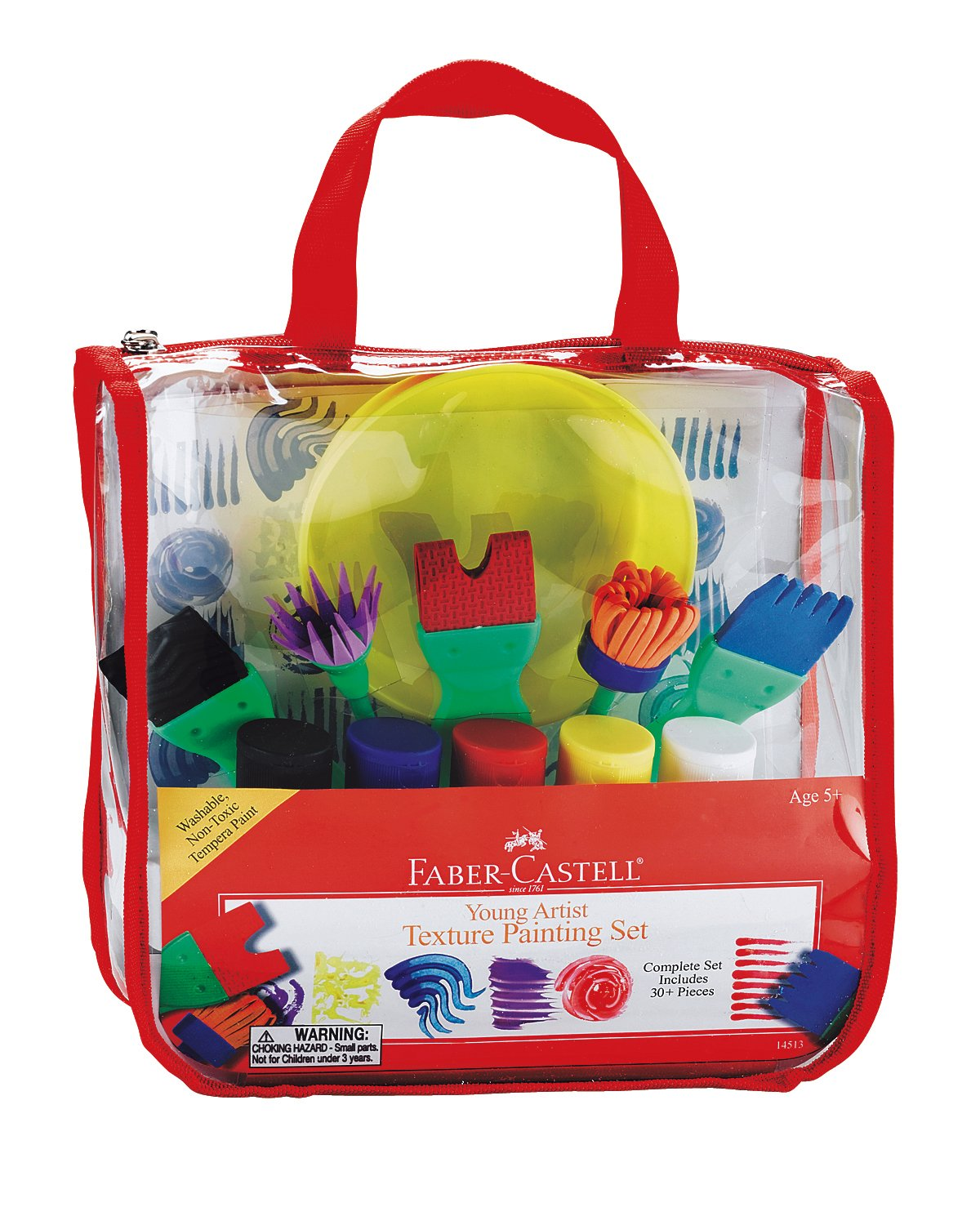 Faber Castell Young Artist Learn to Paint Set - Washable Paint Set for Kids FC14519