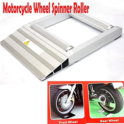 Motorcycle Atv 500lbs Universal Front Rear Wheel Spinner Roller Low Profile: Kitchen & Dining