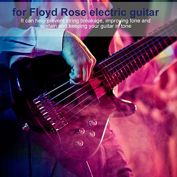Dilwe 6Pcs Guitarra Trémolo Saddles, Puente de Rodillos Tremolo Saddles con Llave para Floyd Rose Guitarra Eléctrica(Oro): Amazon.es: Deportes y aire libre