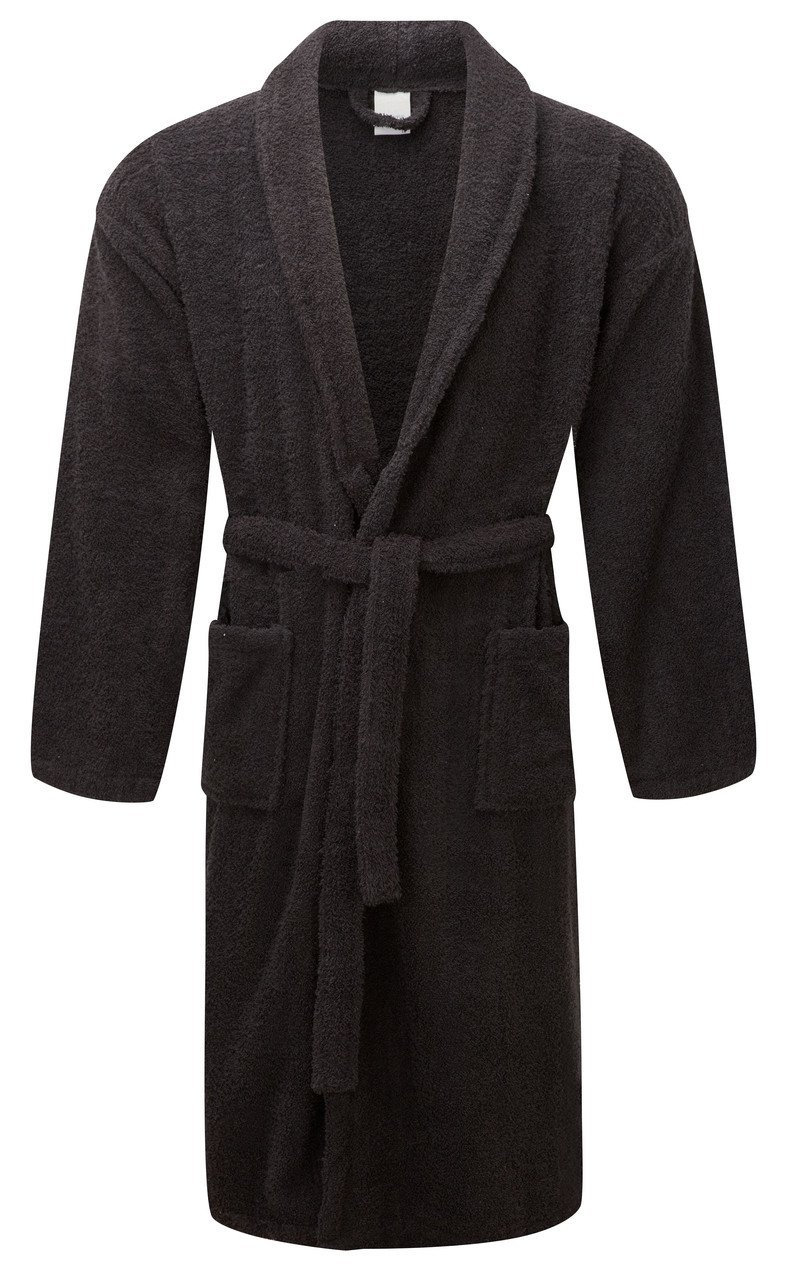 e383c962b1 100% Egyptian Cotton Bath Robes Dressing Gowns Uni-Sex One Size Terry  Towelling Luxury Super Soft Night Wear House Coat Womens Mens Bathrobes  (Pink)  ...