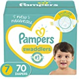 Diapers Size 7, 70Count - Pampers Swaddlers Disposable Baby Diapers, Enormous Pack