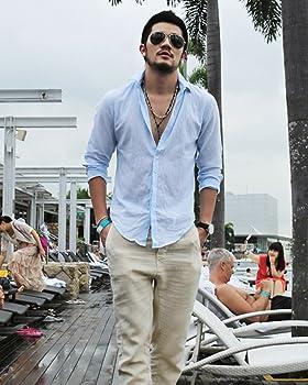 Minetom Camisa Hombre Lino Blusa Casual Suelta Transpirable Tops Manga Larga Color Sólido Camisas de Playa Suave Cómodo Azul X-Small: Amazon.es: Ropa y accesorios