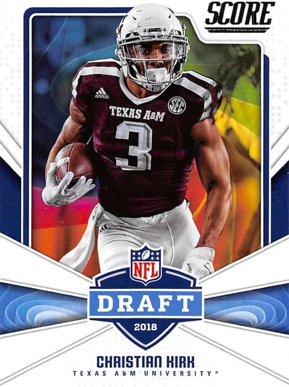 Amazon Com 2018 Score Nfl Draft 19 Christian Kirk Texas A M Aggies Football Card Collectibles Fine Art