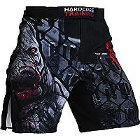 Hardcore Training Pitbull City Fight Shorts Hombre Pantalones Cortos MMA BJJ Boxeo Grappling Fitness No Gi