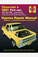Chevy & GMC 4 3L & V* Pick-ups (67-87) & Suburban, Blazer & Jimmy (67-91) Haynes Repair Manual Paperback