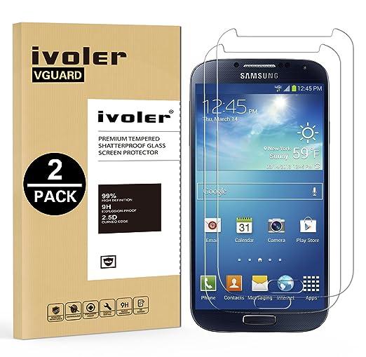27 opinioni per [2 Pack] Pellicola Vetro Temperato Samsung Galaxy S4, iVoler ** [Protezione