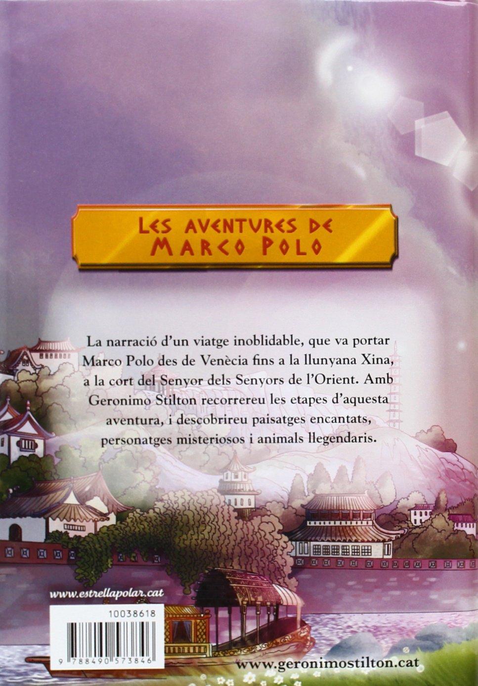 Les Aventures De Marco Polo (Geronimo Stilton): Amazon.es: Stilton ...