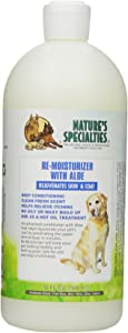 Nature's Specialties Aloe Remoisturizer Pet Conditioner, 32-Ounce