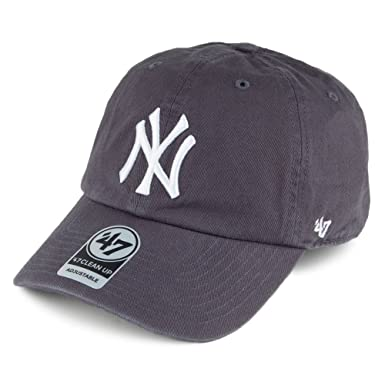 d0a53e02 Image Unavailable. Image not available for. Colour: '47 Brand New York  Yankees Clean up Baseball Cap ...