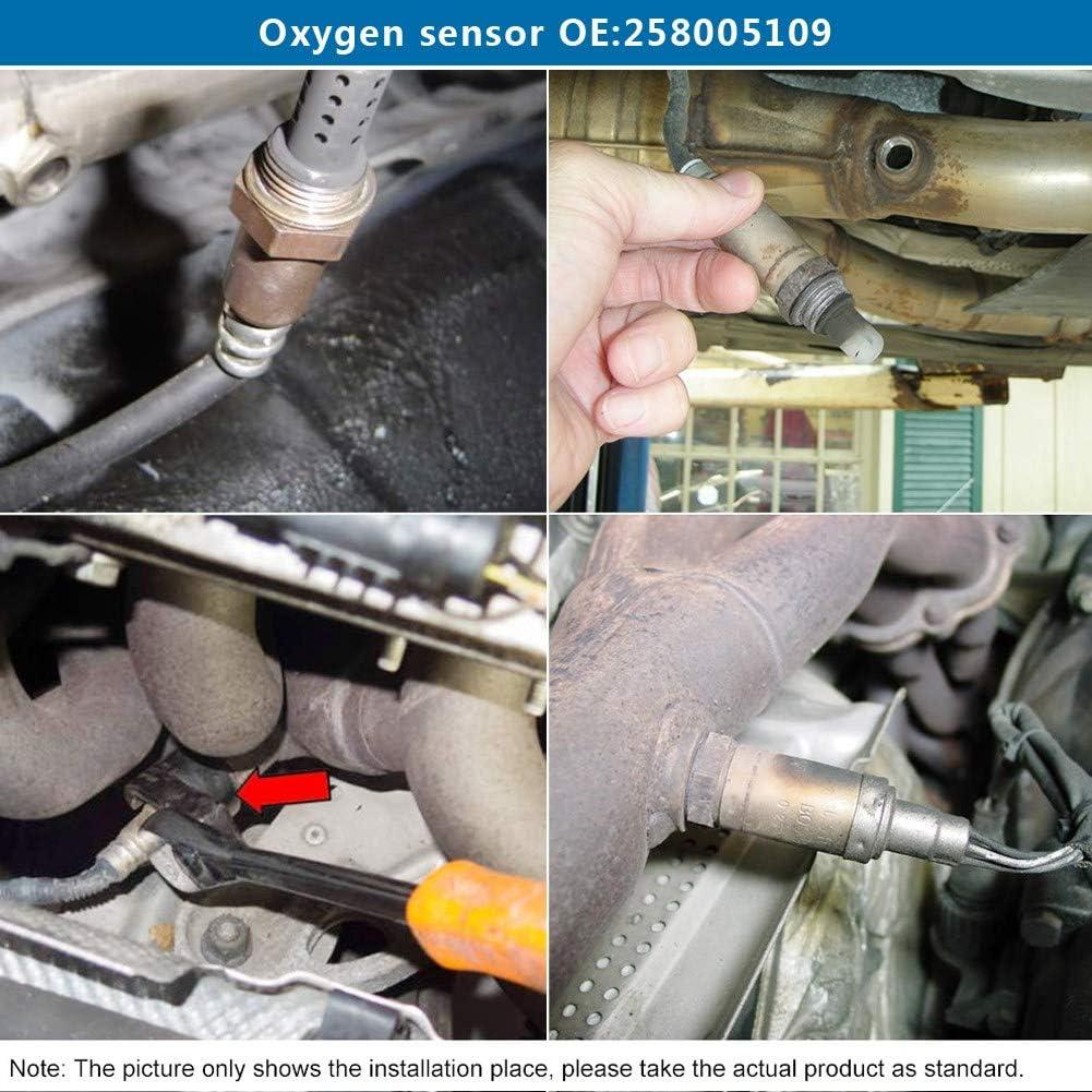 capteur doxyg/ène arri/ère O2 pour E39 E46 E53 E83 E85 Z3 Z4 0258005109 Capteur doxyg/ène de voiture