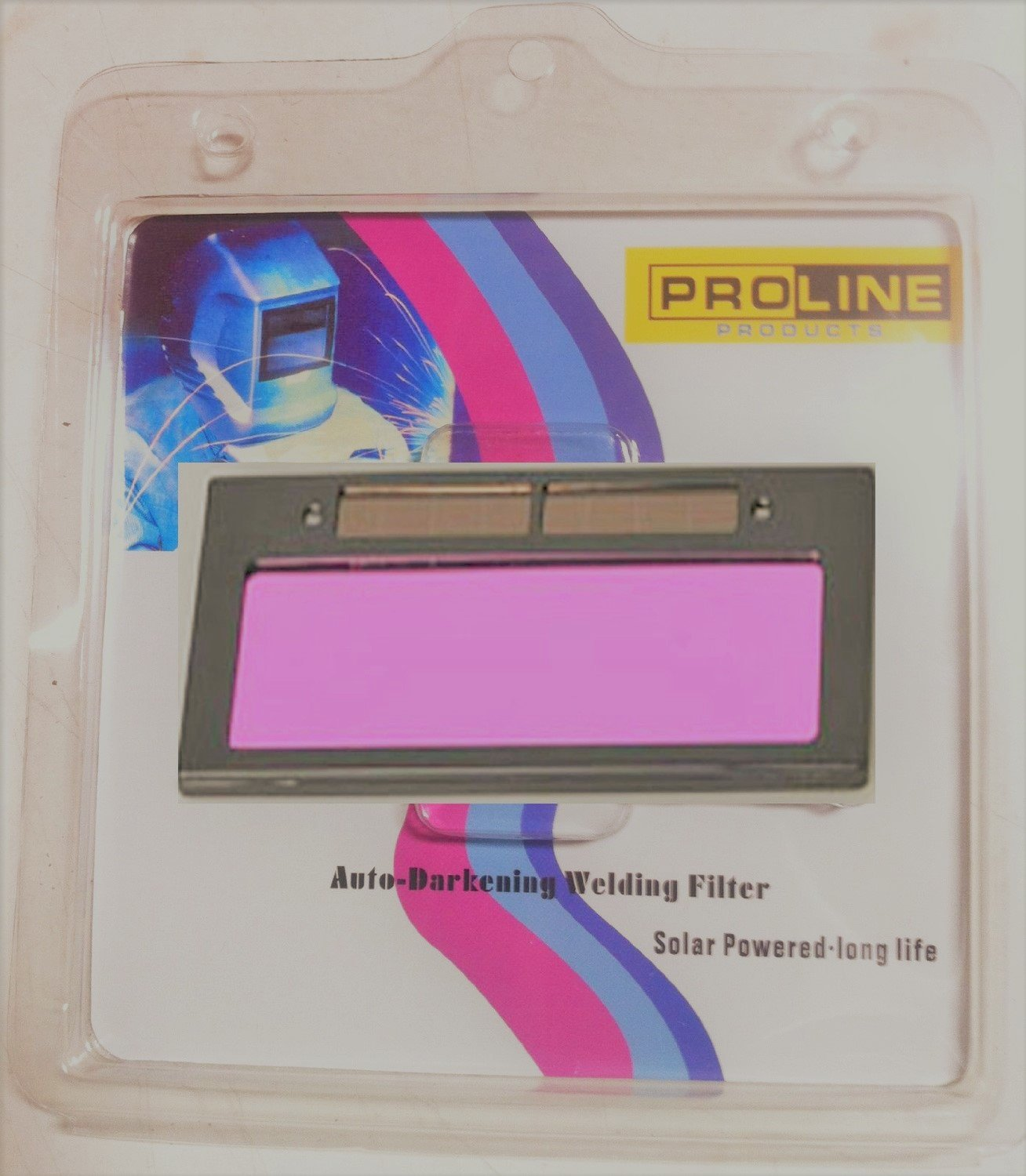 USA seller Proline Products DIN#11 Size 4-1/4'' X 2'' Auto Darkening Welding Helmet Mask Hood Lens Filter by prolineppi