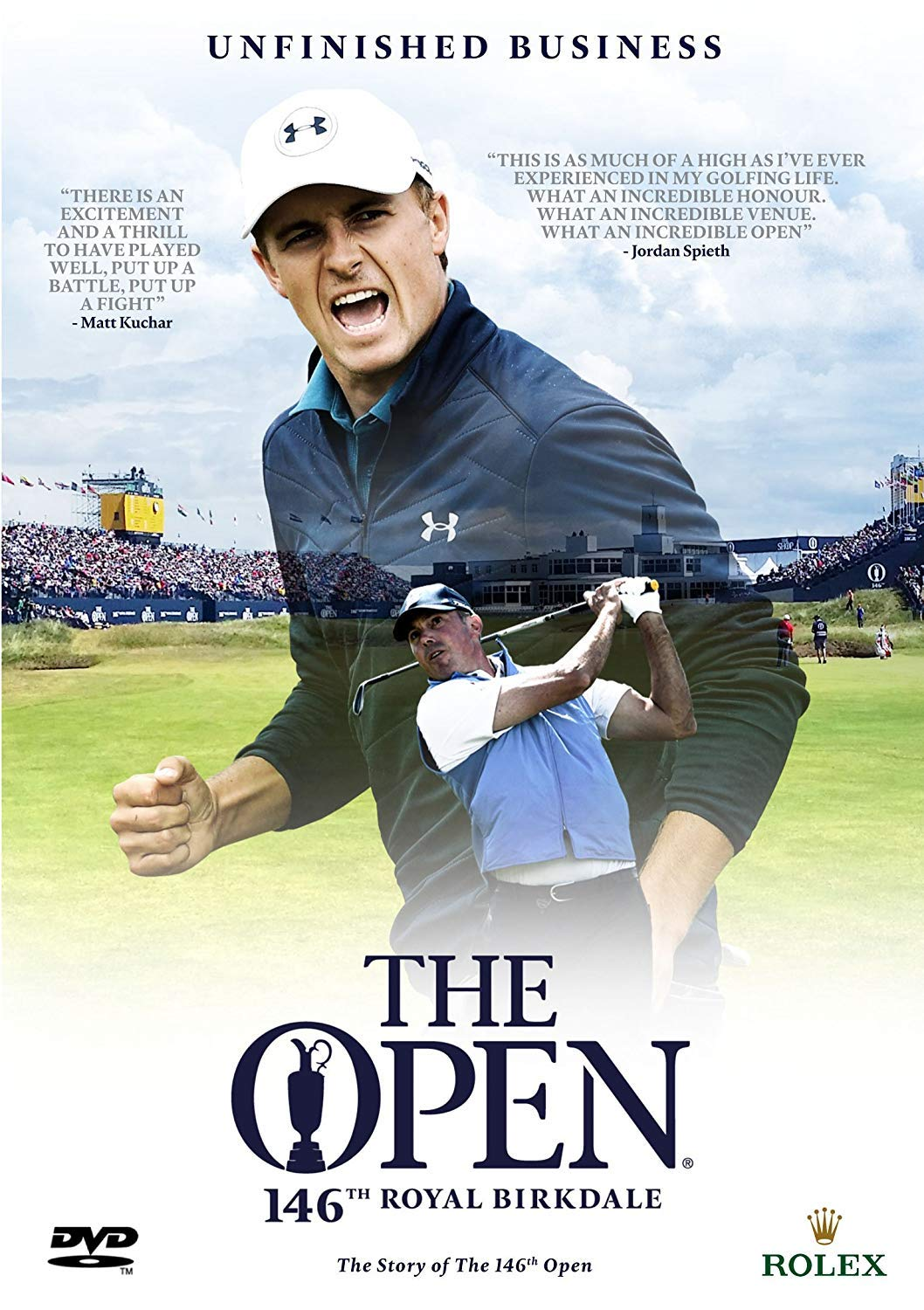 8f99bd43e19 Amazon.com: The Story of the Open Golf Championship 2017 (The Official  Film) [PAL] [DVD]: Movies & TV