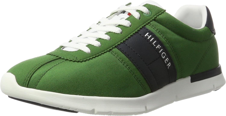 Tommy Hilfiger T2285OBIAS 9C, Zapatillas para Hombre, Verde ...