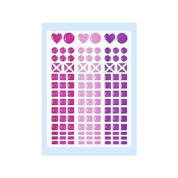 Nougat* 3451806 NEU Mosaik-Sticker *Gelb Orange