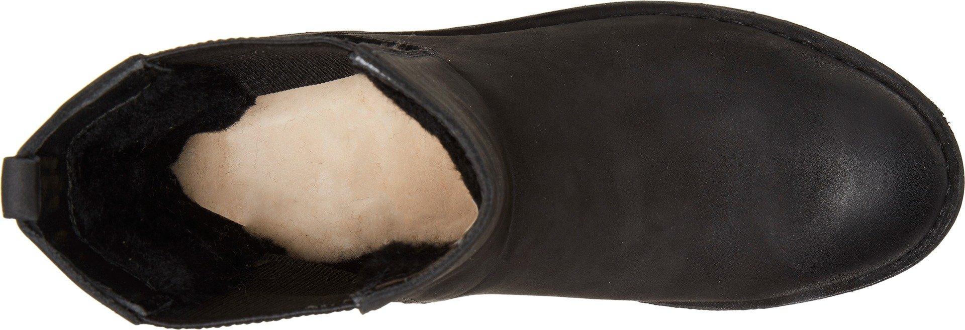 UGG Women's Larra Snow Boot, Black, 10 M US by UGG (Image #2)