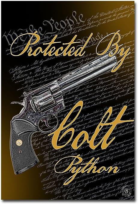 """COLT Firearms Metal Aluminum Tin Sign 9/"""" x 12/"""""""