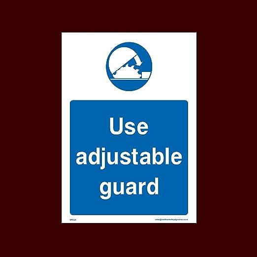 USSP&S Uso Ajustable Guardia Sticker/señal Adhesiva (mmg29) - Cubo ...