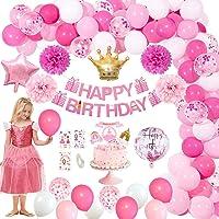 MMTX Decoraciones de Cumpleaños, Feliz Cumpleaños Globos Helio